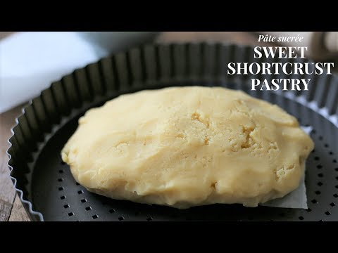 Sweet Shortcrust Pastry Tutorial (using a food processor)
