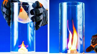 EXCITING PHYSICAL AND CHEMICAL EXPERIMENTS by 5-minute MAGIC