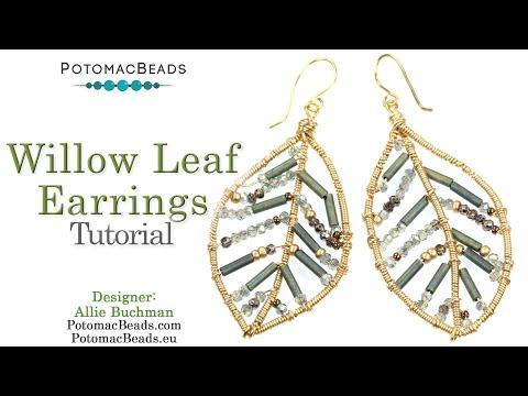 Willow Leaf Earrings (Tutorial)