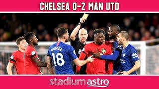 Chelsea 0 - 2 Man Utd   EPL Highlights   Astro Supersport