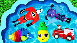 Learn Colors with Skye, Pj Masks, Paw Patrol, Peppa Pig and Minnie Mouse Learning for Kids