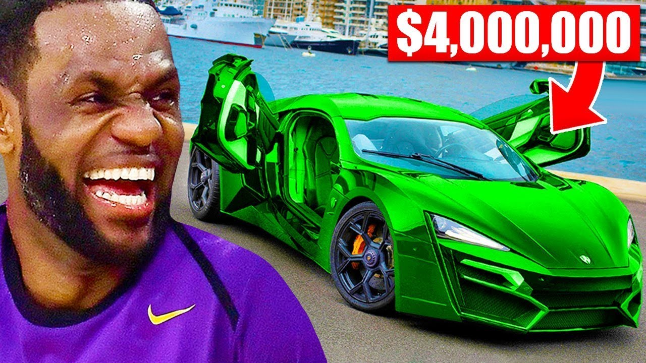 Most Expensive Cars Of NBA Players (LeBron James, Kyrie Irving, Kevin Durant)