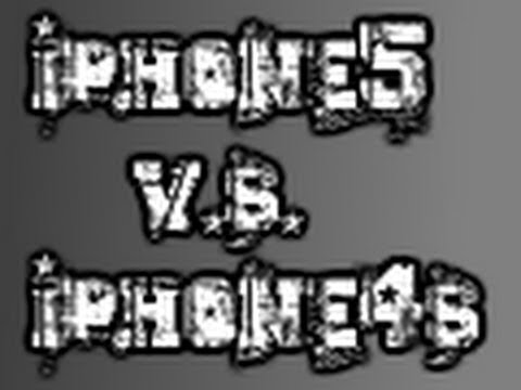 iPhone 5 VS iPhone 4s SPEED TEST