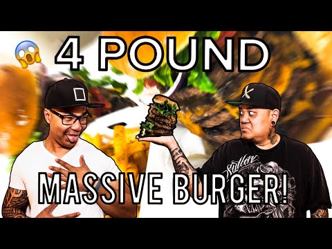 Lindy's On 4th Burger Challenge!