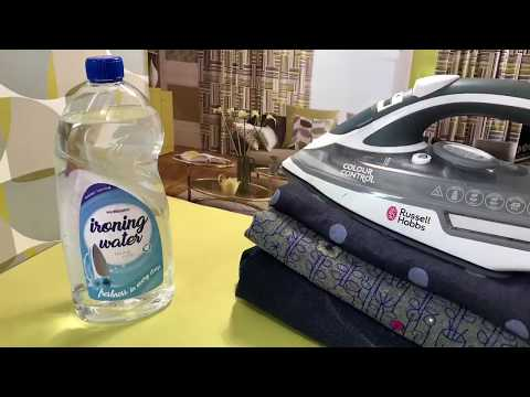 DIY Ironing Water