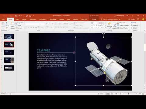 Use 3D models in PowerPoint and Word for Office 365 by Chris Menard