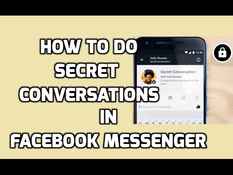 How to do Private/Secret Conversations in Facebook Messenger