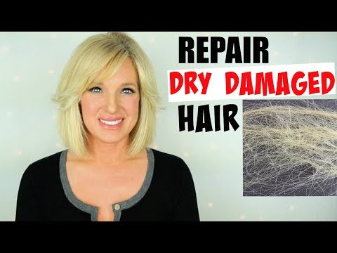 How To REPAIR Very DRY DAMAGED Hair!