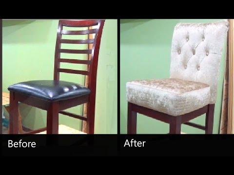 HOW TO REUPHOLSTER A CHAIR - ALO Upholstery