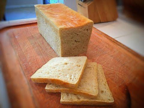 Super Soft No-Knead Sandwich Bread all homemade long fermentation