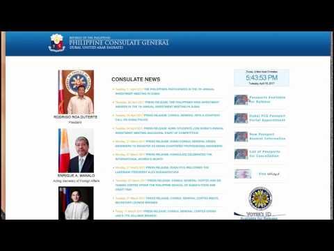 How to Renew Philippine Passport in Dubai