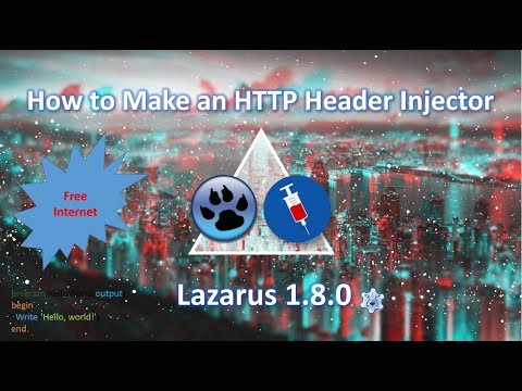 How to Make an HTTP Header Injector for Free Internet (Part 1)