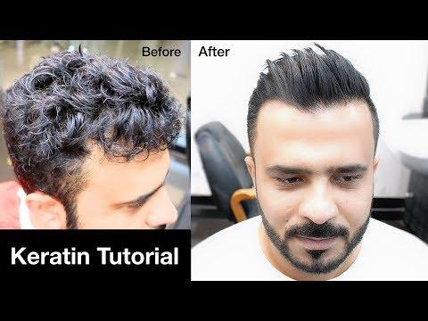 CURLY to Straight Hair ★KERATIN TREATMENT★HAIRSTYLE FOR SHORT HAIR★NATURAL HAIR★ Tresemme Hair✔️