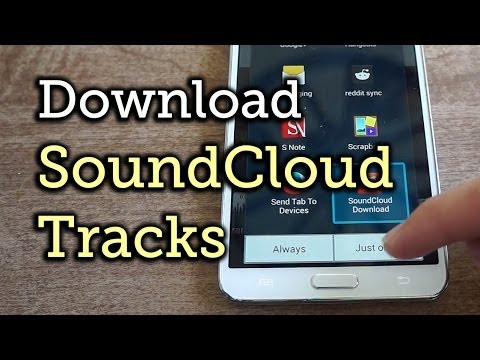 Download SoundCloud Music Streams for Offline Listening - Android [How-To]