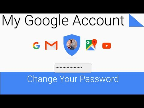 Change or reset your Google Account password
