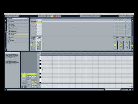 How To Make An Electro House Song In Ableton Live (Part 1)