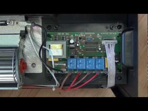Electric Fireplace Insert - Circuit Board