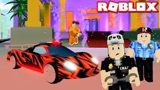 Yeni Polis Arabası? Bu Arabadan Kaçamazlar!! - Panda ile Roblox Mad City