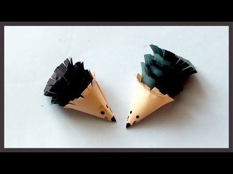 DIY Easy Simple Paper Mouse | How to Paper Crafts for Begineers