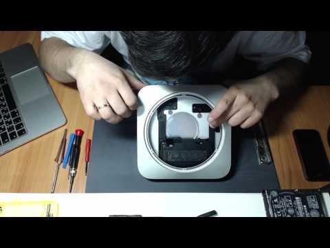 Mac mini Late 2014 SSD PCI-E 128 GB + 1TB HDD ( Fusion Drive )