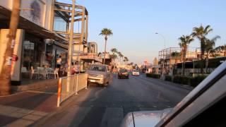 Ayia Napa Taxi Ride from Nissi Beach to Ayia Napa Centre