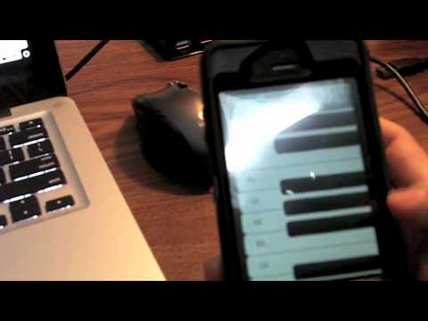How To Use Your iPhone as a MIDI Keyboard on a Mac