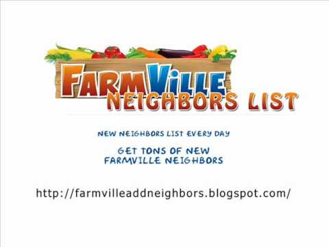 How to get lots of Farmville Neighbors