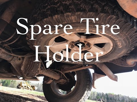 Replacing a Spare Tire Holder