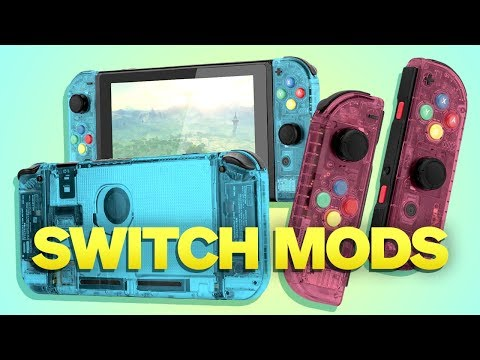 How To Mod Your Nintendo Switch and Joy-Con