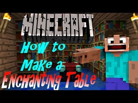 Minecraft Ps3 (Playstation 3) Edition Tutorial - ENCHANTMENT TABLE