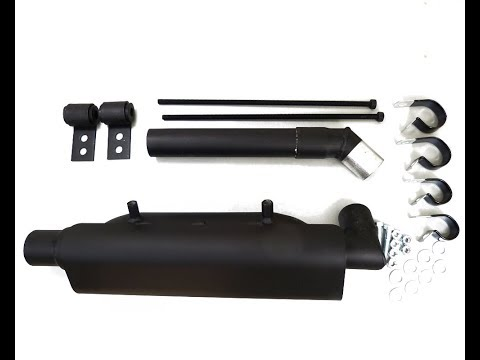 exhaust silencer quiet for ATV and UTV Side by Side