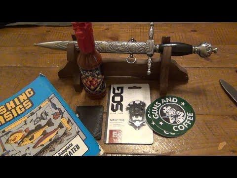 YABOS...Cigars, Dagger, Multitools, Hot Sauce, & More...
