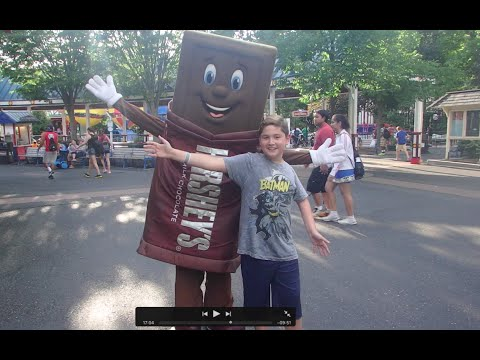 Super Fun Day at Hershey Park, PA HD