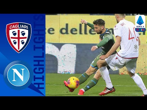 Cagliari 0-1 Napoli | Dries Mertens' Stunning Goal Gives Napoli the 3 Points | Serie A TIM