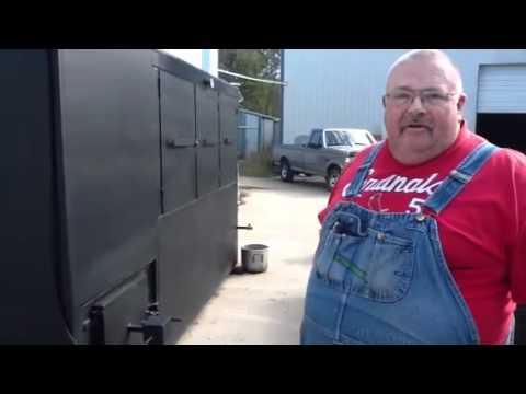 Commercial BBQ Pit