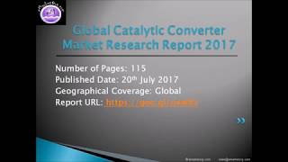 Catalytic Converter Market News, Corporate Financial Plan, Supply and Revenue to 2022