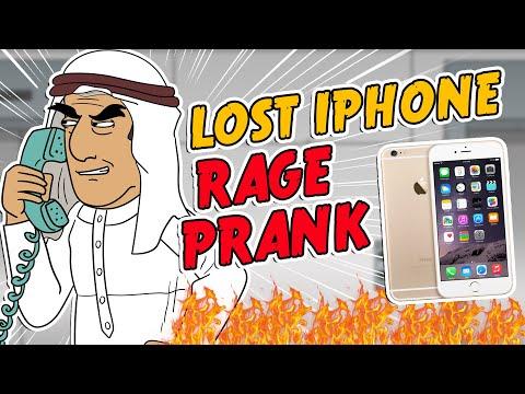 Saudi Lost iPhone Rage Prank - Ownage Pranks