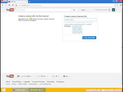 Episode 1-How to Change your Youtube Channel URL 2013