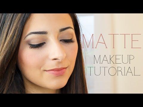 Matte Makeup Tutorial | Le Beauty Girl