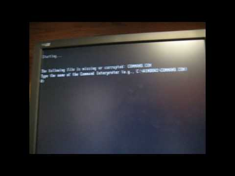 How To Make An MS-DOS Boot Disk, Dangerous Codes To Use With It