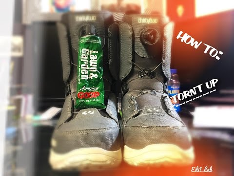 DIY | HOW TO FIX YOUR SNOWBOARDING BOOTS