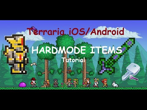 [OLD] Terraria iOS/Android - Let`s Cheat (ADD NEW ITEMS) TUTORIAL