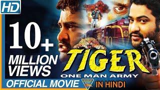 Tiger One Man Army Hindi Dubbed Full Movie || NTR, Sonali Joshi || Bollywood Full Movies