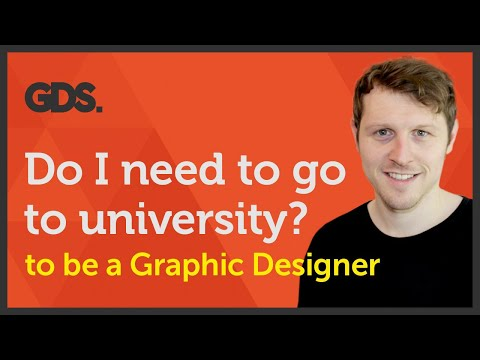 Do I need to go to University to be a Graphic Designer? Ep29/45 [Beginners Guide to Graphic Design]