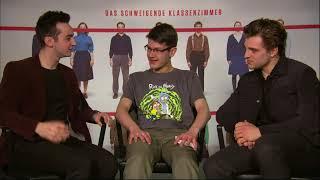 Das schweigende Klassenzimmer - Interviews mit Isaiah Michalski und Jonas Drassler