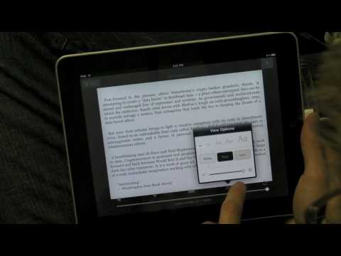 Kindle on iPad