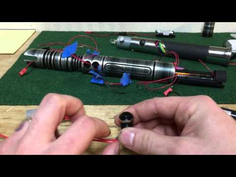 Adding an LED to a Lightsaber Hilt (Saberforge Initiate Tier)