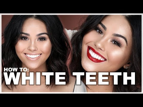 HOW TO WHITEN YOUR TEETH (WITH MAKEUP) | Roxette Arisa
