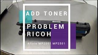RICOH MP301SPF Błąd ERROR CODE SC500 SC541 SC542 SC543 SC544 SC546