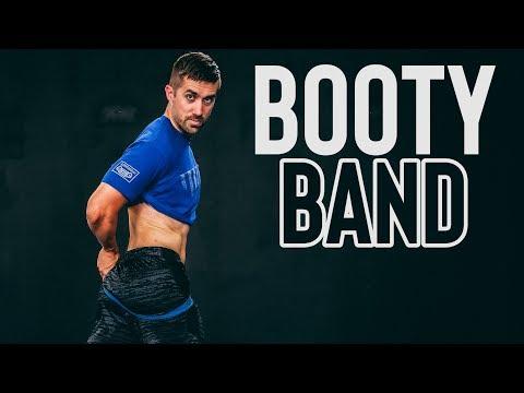 Brian's Booty Building Butt Blaster (Follow Along Band Workout)